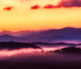 smoky mountains sunsets itrip vacations